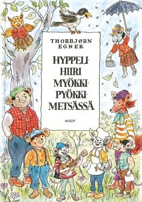 Hyppelihiiri Myökki-Pyökki-metsässä (ThorbjørnEgner)