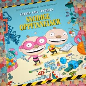 Odd og Todd – Snodige oppfinnelser (Aino Havukainen og SamiToivonen)