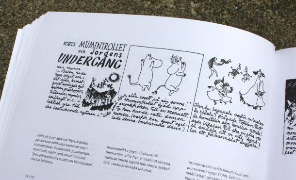 Bilde: Tove Jansson / Mumintrollet och jordens undergång