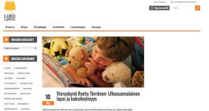 Kuva: Ruutukaappaus Lukulampun sivulta (www.lukulamppu.fi)