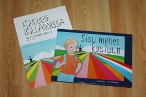 Kirjojen kannet: Liisa Aholainen