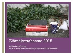 Elämäkertahaaste 2015