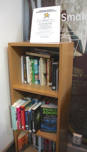 Kirjallinen Oslo – Bookcrossing-hylly