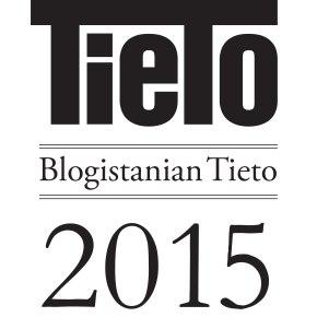 Blogistanian Tieto 2015 –voittajat